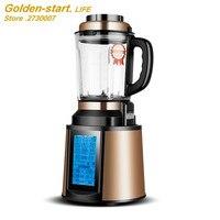 Автоматическая нагревательная машина для приготовления пищи стеклянная чашка многофункциональная бытовая электрический миксер, блендер