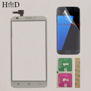 Image 3 - Mobile Touch Screen Panel Sensor For Lenovo A916 A 916 Touch Screen Front Glass Digitizer Panel Replacement Parts Protector Film