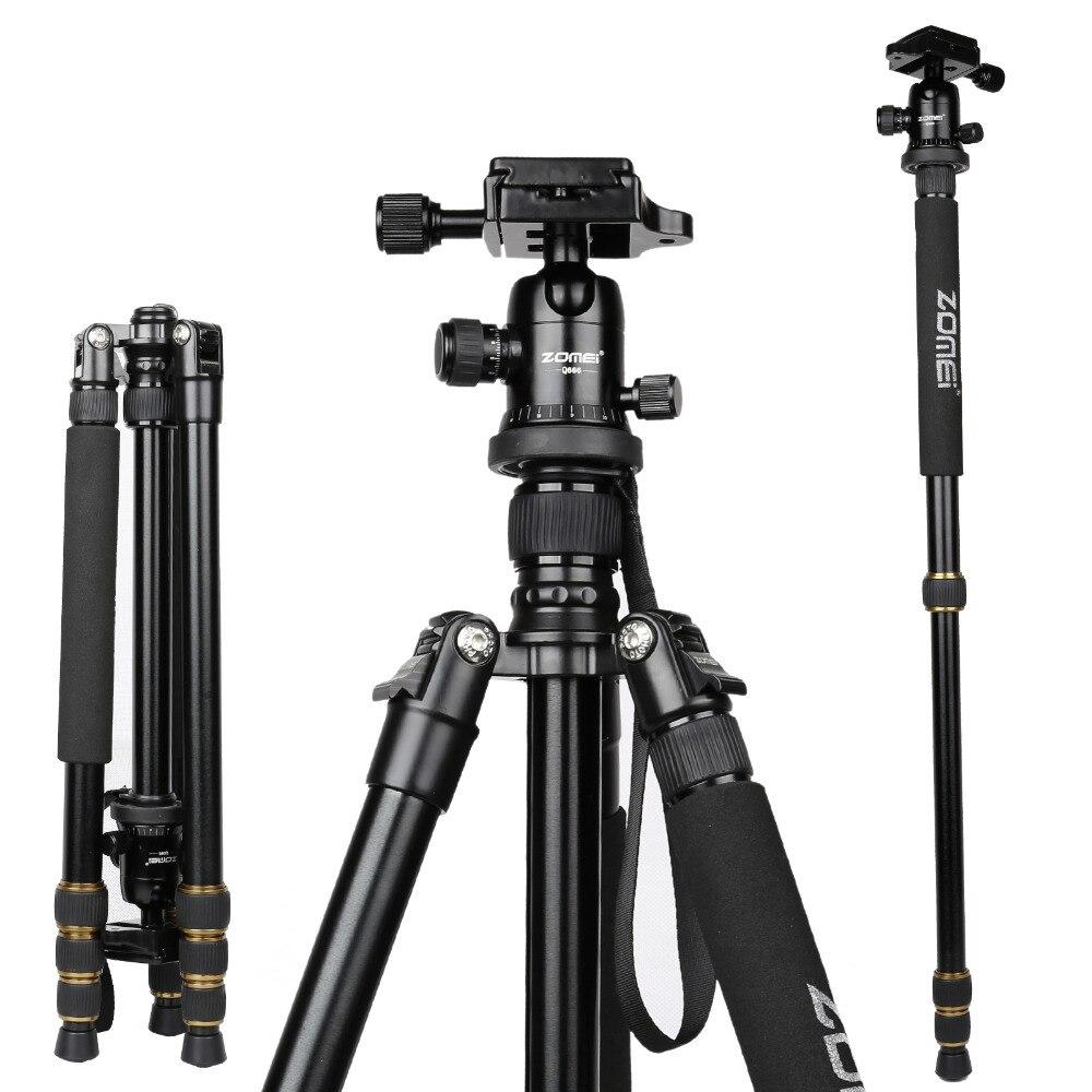 Zomei Z688 professionnel photographique voyage Compact en aluminium robuste trépied monopode et rotule pour appareil photo numérique DSLR - 2