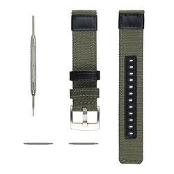 V-MORO 22 미리메터 짠 나일론 시계 스트랩 기어 S3 밴드 교체 팔찌 기어 S3 클래식 프론티어 스마트 시계