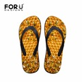 Mens Summer Casual Sandals Animal Slippers Bee 3D Printed Rubber Flip Flops for Teenagers Wear-resistant Beach Shoes Male Flats