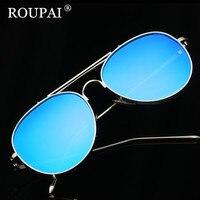ROUPAI 2017 High Quality Metal Sunglasses Steampunk Women Fashion Glasses Brand Designer Retro Vintage Female Sunglasses