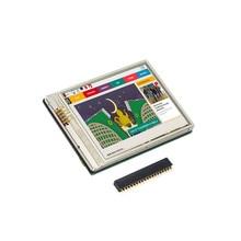 Новый 2,8 дюймовый TFT ЖК дисплей, сенсорный экран 640x480 60 кадров в секунду для Raspberry Zero W