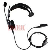 מכשיר הקשר איכות טובה אוזניות בצד אחד MTX850 PRO5150 GP328 GP338 מכשיר הקשר עם מיקרופון (1)