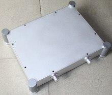 WA22 Aluminum enclosure Preamp chassis Power amplifier case/box size 340*430*90MM