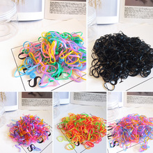1000pcs/600pcs Baby TPU Elastic Hair Band Child Ties Kids Scrunchy Girls Ponytail Holder Rubber Bands Accessories Gum