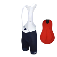 Darevie blue cycling bib shorts men breathable pro cycling bib shorts shockproof 3D sponge padded cycling bib shorts
