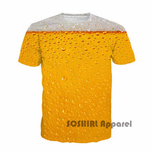 "3D ""It's Beer Time"" all-over-print men's t-shirt"