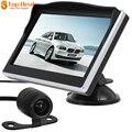 Nuevo 480X272 5 ''TFT LCD HD Coche Cámara Digital monitores de Marcha Atrás Con E306 18mm Color VCD DVD GPS Cámara de Marcha Atrás