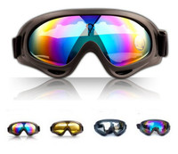 Winter Outdoor Sports Snowboard Airsoft Paintball Uv400 Protective Glasses Eyewear Motorcycle Snow Ski Goggles X400