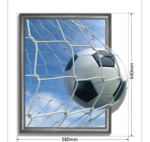 3D Muurstickers Voetbal Club Schilderen Kinderkamer Plafond Voetbal ...