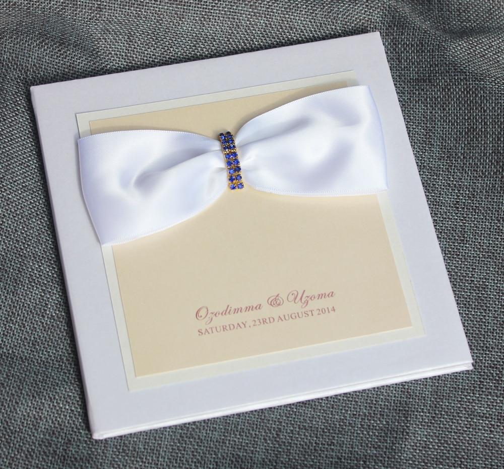 HI1082 High Quality Customized Elegant White Hard Cover Wedding ...