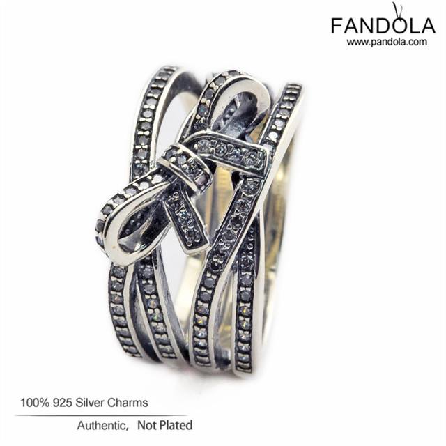 2016 New 925 Sterling Silver Delicate Sentiments Rings For Women Men Fashion Ring with Clear CZ CKK  Fandola Jewelry