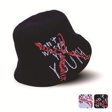 a2550fc5d9bd2d Fashion Boonie Flat Fishman Hat Japanese Men Women Bucket Hats Harajuku  Embroidery Letter Hip Hop Fishing Cap Summer Sun Hats