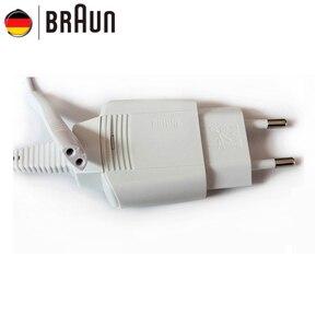 Image 1 - 브라운 5497 화이트 면도기 충전기 유럽 충전 케이블 입력 100 240 v 출력 12 v ipx4 방수 브랜드 뉴