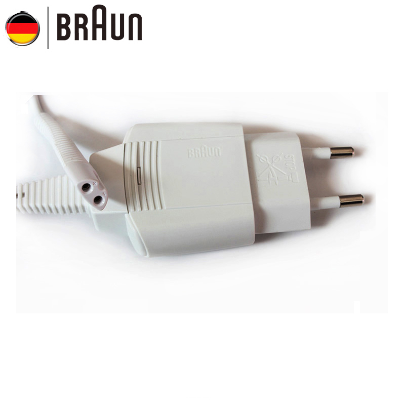 Braun 5497 White Shavers Charger Europe Charging Cable Input 100-240V Output 12V IPX4 Waterproof Brand New