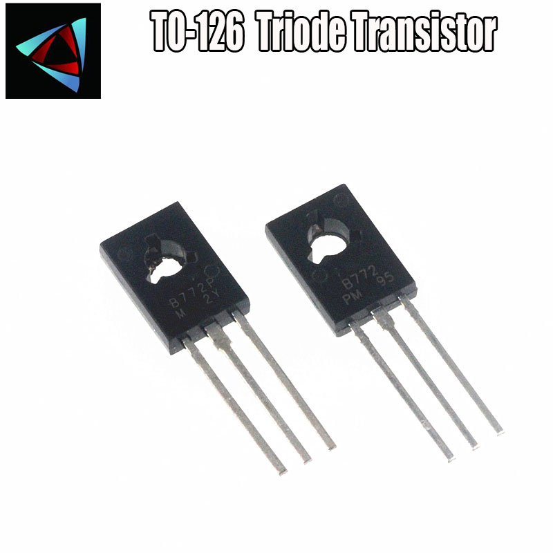 10PCS B772 2SB772 3A//40V PNP TO-252 transistor