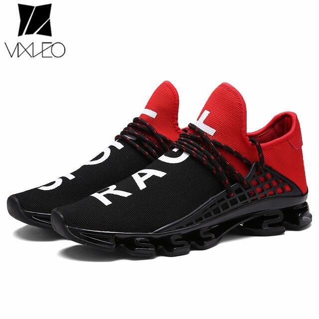 62b1243fc6 Tênis de corrida para Os Homens 2018 Marca Tênis Branco Sapatos Sapatos  Homem Zapatillas Hombre Deportiva