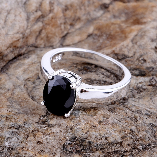 2016 New arrival circular shiny stone Wholesale silver plated ring 925 Fashion j