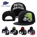 Snapback Chapéus Para Homens Metal Mulisha Crânio Osso Casquette Homme Carta Esportes Hip Hop Gorras Boné de Beisebol Das Mulheres Dos Homens Ajustável