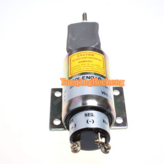 2001-12E6U1B1S1 SA-3069 12V Shutoff Stop Solenoid Valve For Engine stop solenoid 1j710 60011 12v for engine v2607