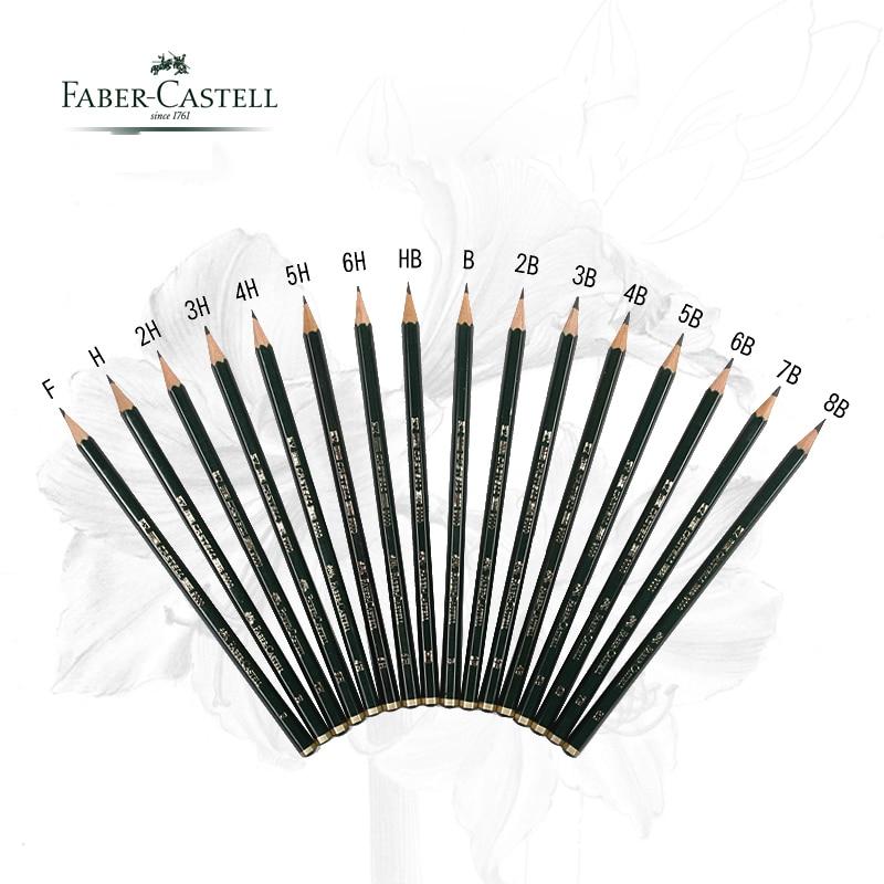 5/16 teile/los Faber Castell 9000 Design Bleistift Kunst bleistifte ...