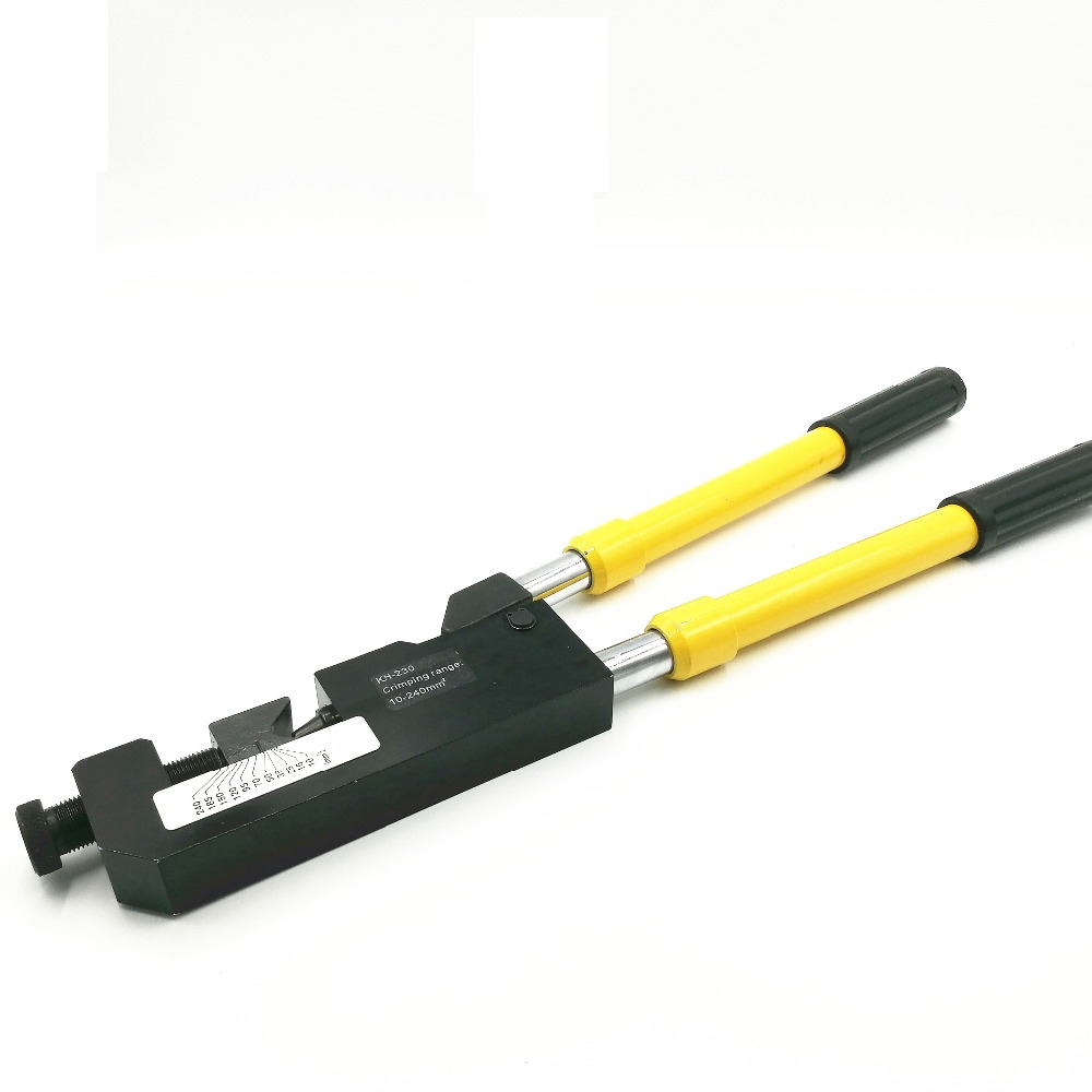 KH-230 mechanical crimping clamp crimp 10-240 MM2 terminal handle retractable long handle crimping pliers