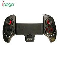 新しいipega pg-9023伸縮ワイヤレスbluetoothゲームパッドゲームコントローラゲームパッドジョイスティック用アンドロイド電話windows pcパッ