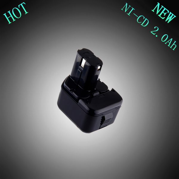 New 12V NI-CD 2000mAh Replacement Rechargeable Power Tool Battery for HITACHI EB1212S EB1220HS EB1226HL EB1214S EB1230X EB1233X