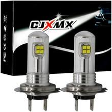 CJXMX 2Pcs H1 H3 H7 H11 9005/HB3 9006/HB4 LED Car Fog Light Bulb 12V 1500LM Auto Led Lamp 6000K White Automobile Fog Lamp led H7