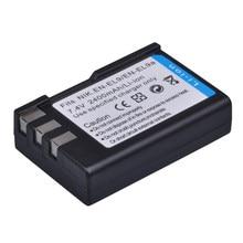 Аккумулятор PowerTrust для камеры, 2400 мА/ч, Аккумулятор AKKU для камеры Nikon, D40, D60, D40X, D5000, D3000, с аккумулятором EN EL9, EN-EL9, EN EL9a, D5000, D3000