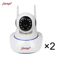Jiange Wireless Cloud Storage IP Camera 720P Video Surveillance Camera PTZ Night Vision Plug Play 2