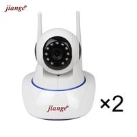 Jiange Wireless Cloud Storage IP Camera 720P Video Surveillance Camera PTZ Night Vision Plug Play 2