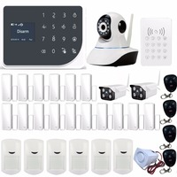 Yobang Security WiFi GSM Home Alarm System 2G Wireless Security Alarm SMS Alert alarm system PIR Sensor 110dB Sirens
