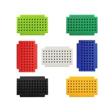 (7pcs/lot) Hi-Q ZY-55 mini solderless breadboard PCB board free solder test board
