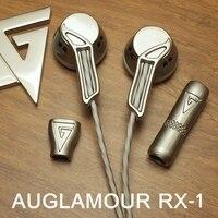 AUGLAMOUR RX 1 Earphone Flat Head Plug For Xiaomi Samsung IPhone Audifonos Fone De Ouvido Auriculares