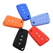 3 Buttons Remote Silicone Folding Key Case Shell Cover For Toyota Auris Corolla Avensis Verso Yaris Aygo Scion TC IM 2015 2016 цена и фото