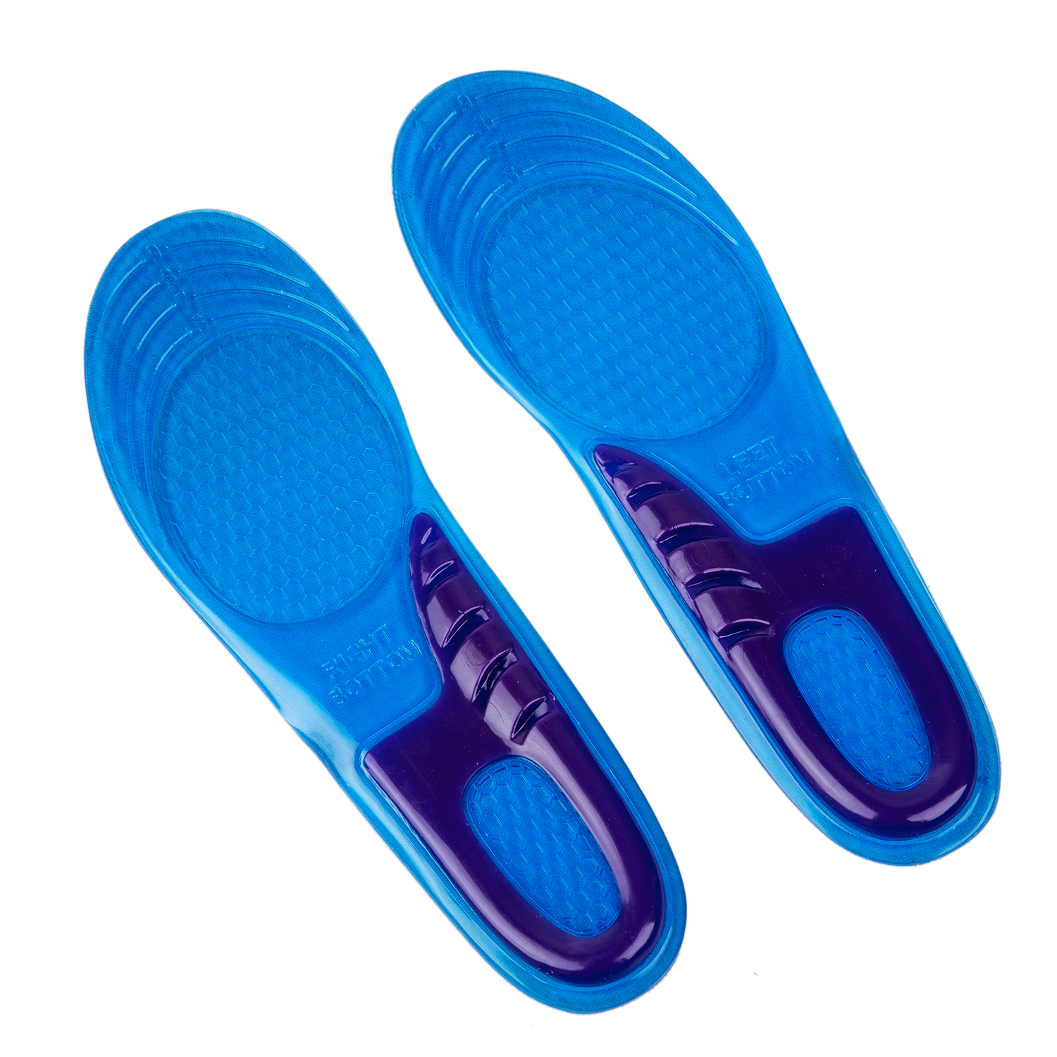 Hot-HIGH QUALITY NEW ORTHOTIC ARCH SUPPORT MASSAGING GEL INSOLES Confortable wear