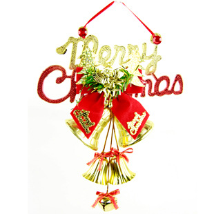 christmas plaid bell christmas ornaments christmas tree pendant 20cm english factory outlet new year decorations - Christmas Decorations Factory Outlet