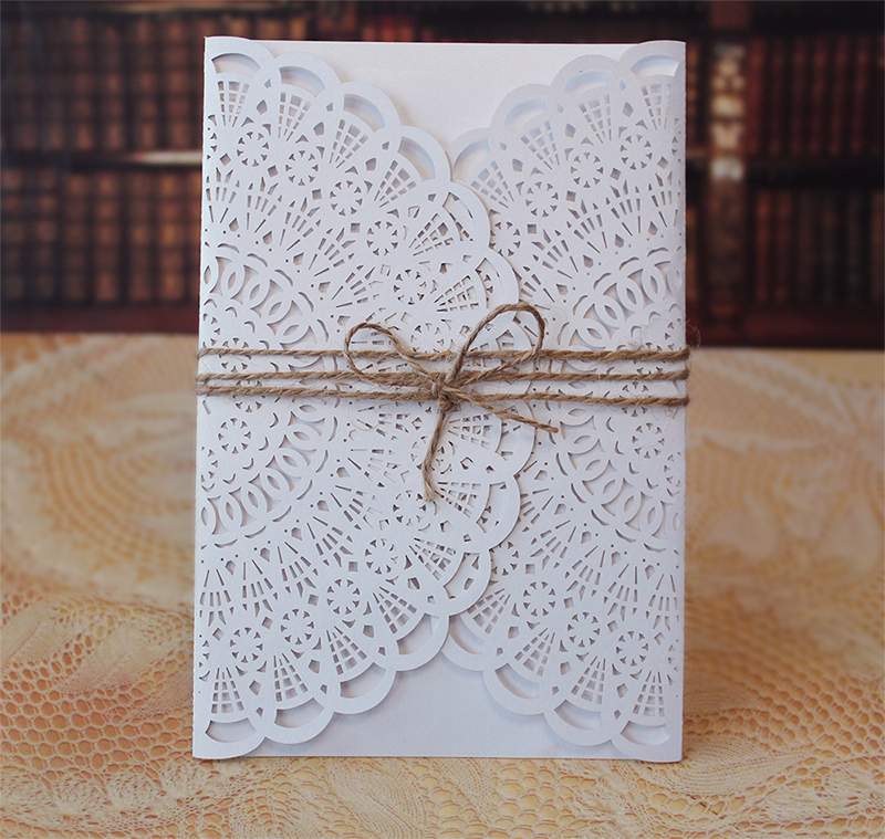 Laser Cut Out Cards