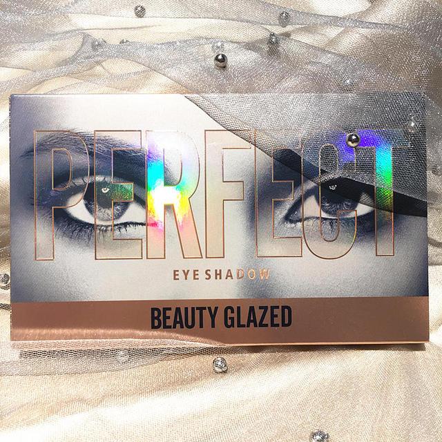 Beauty Glazed 18 Color Nude Shining Eyeshadow Palette Makeup Glitter Pigment Smoky Eye Shadow Pallete Waterproof Cosmetics 5