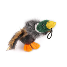 Puppy Dog Pet Toys Stuffed Squeaking Duck Dog