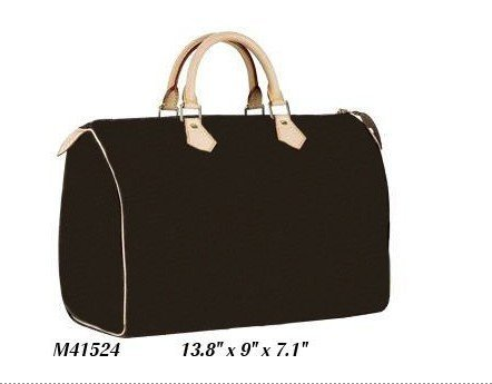 Chic Monogram Canvas M41524 SPEEDY 35 shoulder tote bags Designer Handbags