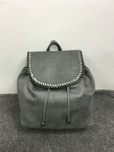 YESIKIMI luxury brand women backpack school bag PVC knitting chain shoulder bags travel backpack 34*30*15cm lady bolsos