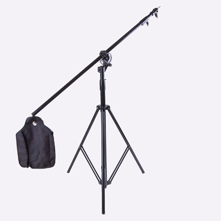 2140 многофункциональная купольная стойка, песочный мешок, горизонтальная регулировка руки, 180 градусов, 300 Вт, подставка для вспышки, крестоо