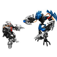 7179 Decool 9365 Hero Factory Star Plan Soliders 2in1 Demon Vapour VS Bulk Robot Bionicle Building Blocks Compatible With