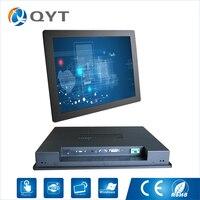 17 pulgadas resolución 1280*1024 incrustado Monitores s pantalla táctil LCD Monitores con VGA hdmis puerto