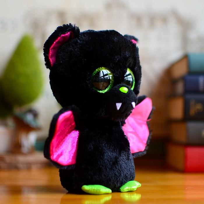 US $9 99 |Original Ty Collection Beanie Boos Kids Plush Toys IGOR Bat Big  Green Eyes Christmas Gift Kawaii Cute Soft Stuffed Animals Dolls-in Stuffed