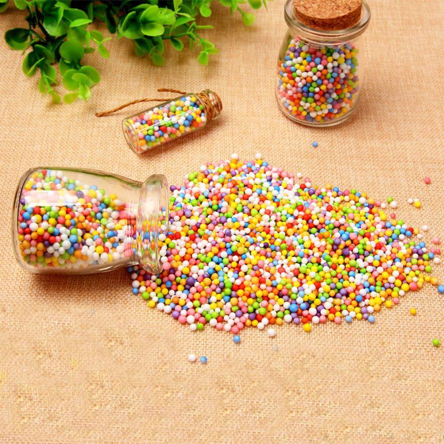 Learning & Education Color & Shape #5001 Colorful Styrofoam Foam Balls Slime Tool Fruit Slice For Slime Making Art Diy Craft