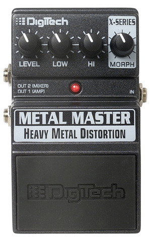 DigiTech XMM Metal Master Heavy Metal Distortion Pedal image